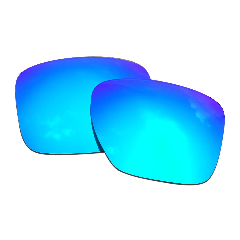 SOODASE Para Oakley Sliver XL Gafas de sol Azul Lentes de repuesto ...