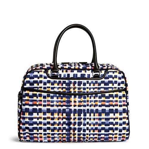 (Vera Bradley Iconic Weekender Travel Bag, Microfiber, Abstract Blocks)