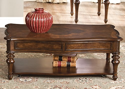 Liberty Furniture INDUSTRIES 259-OT1010 Andalusia Occasional Cocktail Table, Vintage Cherry Finish, 50