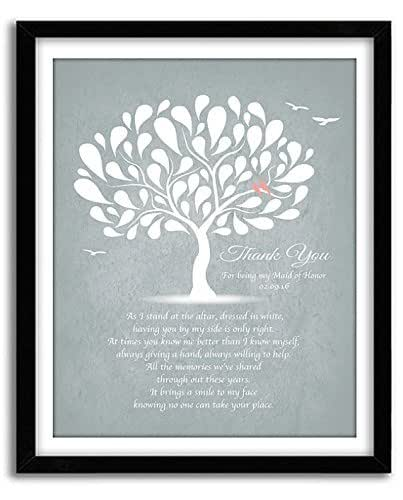 Unique Sister Gift - Gift For Maid of Honor - Wedding Gift for sister ...