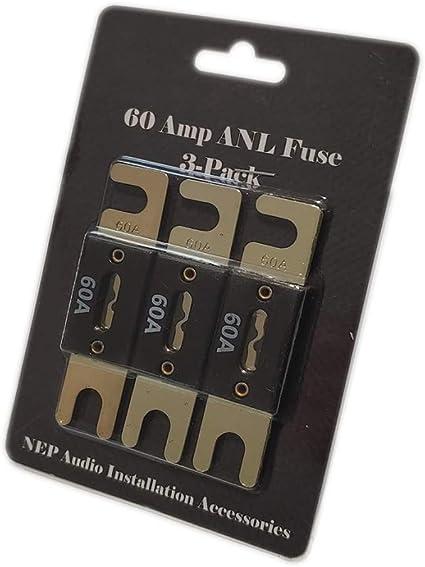 NEP ANL Fuse 3-Pack 200 Amp