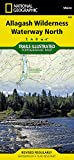 Allagash Wilderness Waterway North (National Geographic Trails Illustrated Map)