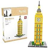 Yzakka 909Pcs Educational Creative Construction Building Blocks Landmark Construction Bricks Toy Set Big Ben