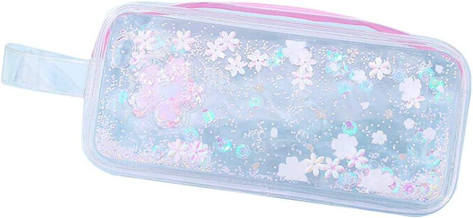 Hunpta - Estuche impermeable para lápices, diseño de flores, color rosa: Amazon.es: Oficina y papelería