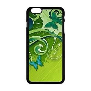 green cirrus and fly butterfly personalized creative custom protective phone case for iphone 4 4s