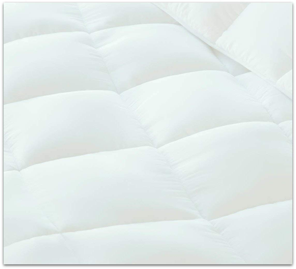 Milddreams Comforter Twin Size Down Alternative White- Twin Comforter Duvet Insert 68x90 inch - Quilts Twin Size - Bed Comforter Twin - Hypoallergenic - All Season