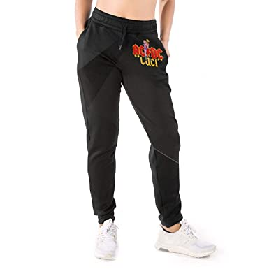Amazon.com: AC-DC Pantalones de chándal 3D para mujer, con ...