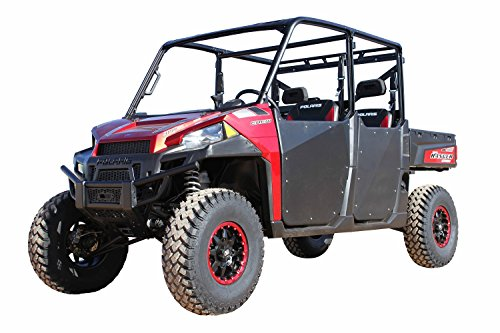 Dragonfire Racing ReadyForce Black HiBoy Doors Polaris Ranger Crew 900