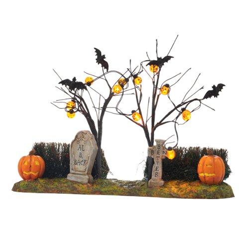 [Department 56 Halloween Accessories Village Jack-O-Lantern Yard Accessory, 2.17-Inch] (Halloween Yard)