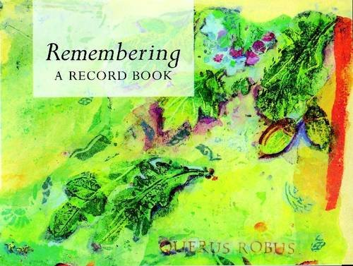 Remembering: A Record Book by Lion Hudson