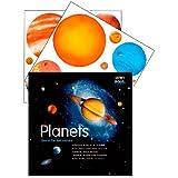 Planetas fluorescentes - Se ilumina en la oscuridad
