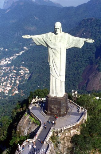 Christ the Redeemer 11x17 HD Photo Poster World Landmark #02 HDQ (Rio Christ Redeemer Statue)