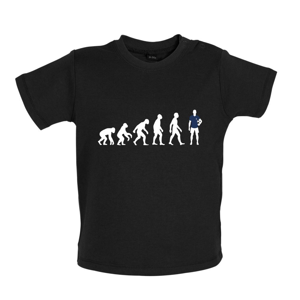 France Baby//Toddler T-Shirt Dressdown Evolution of Man 3-24 Months
