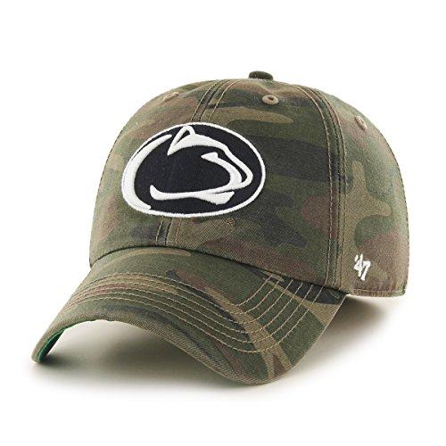 NCAA Penn State Nittany Lions Harlan Franchise Fitted Hat, Medium, Sandalwood