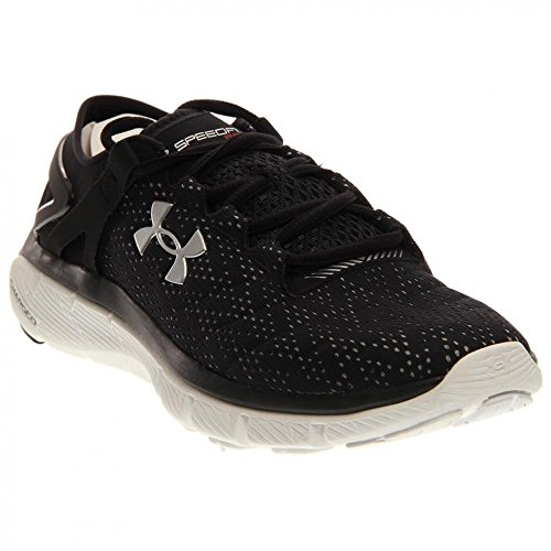 Under Armour Donna Ua Speedform Fortis Sneaker Nero / Bianco / Argento Metallizzato
