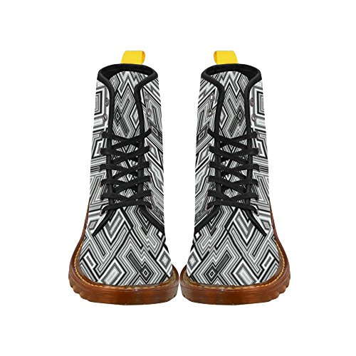 LEINTEREST For Fashion modern Shoes modern Women Martin Boots LEINTEREST Pattern vxY8dYZp