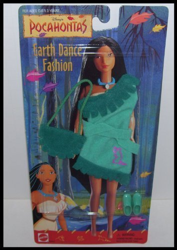 [Disney Pocahontas Earth Dance Pink Dress Shoes Bag Fashion] (Pocahontas Dress)