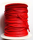 Cheap GPP Red Bow Fishing Line (165ft/50m Spool 200-pounds)