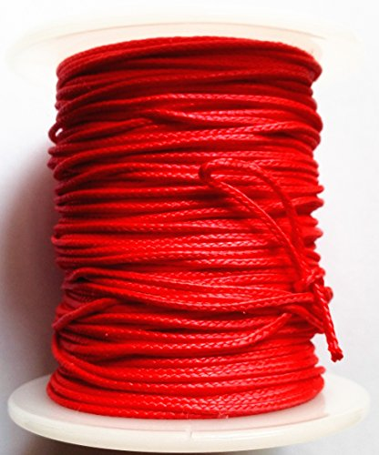 GPP Red Bow Fishing Line (165ft/50m Spool 200-pounds) Bowfishing Line