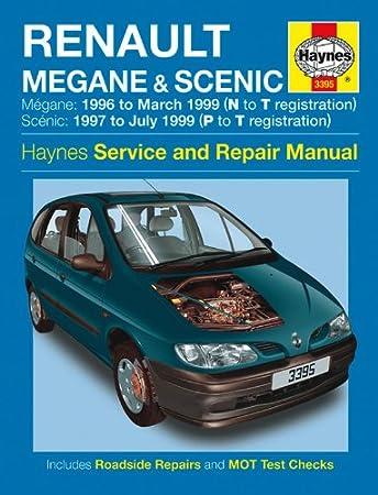 renault megane scenic repair manual haynes manual service manual rh amazon co uk 2010 Renault Megane Renault Megane Wagon