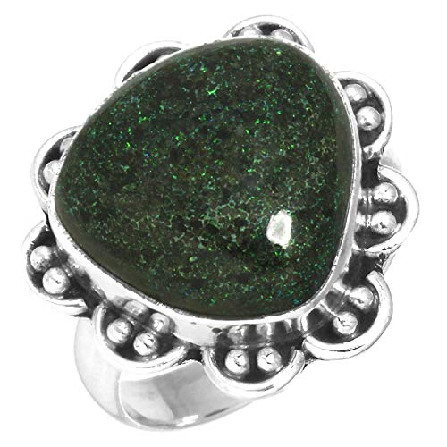 Matrix Opal Ring - Natural Honduran Black Matrix Opal Gemstone Ring Solid 925 Sterling Silver Collectible Jewelry Size 6