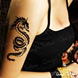 Zokey Original Design Waterproof Temporary Tattoo Stickers Dragons Sexy Flower