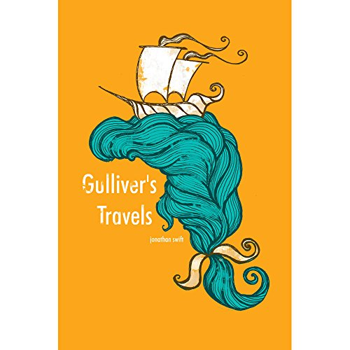 Recovering the Classics Wall Decal: Gulliver's Travels by Roberto Lanznaster (16 in x 24 in)
