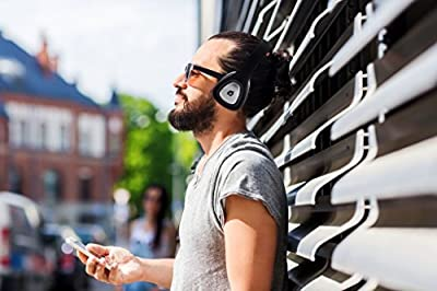 Owlee Artus High-Performance, Luxury, Around-Ear, Wireless Stereo Bluetooth Headphones, Hands-Free Calling, NFC Pairing, 9+ Hours Playtime, Folding, Compatible with all Bluetooth devices