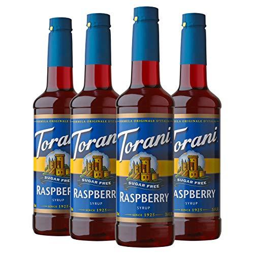 Torani Sugar Free Syrup, Raspberry, 25.4 Ounces (Pack of 4) ()