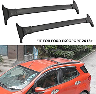 Yeeoy Top Cross Bar Roof Rack Crossbar Luggage Carrier Fits 2013-2017 Ford Ecosport