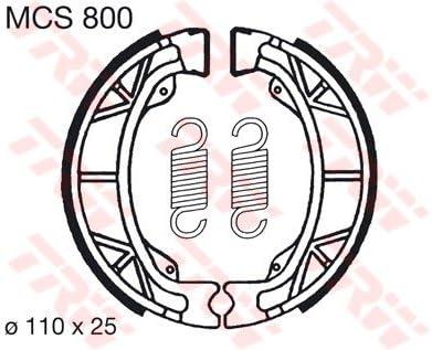 Lucas TRW Bremsbel/äge MCS 800 vorne Aprilia Amico LX 50 90