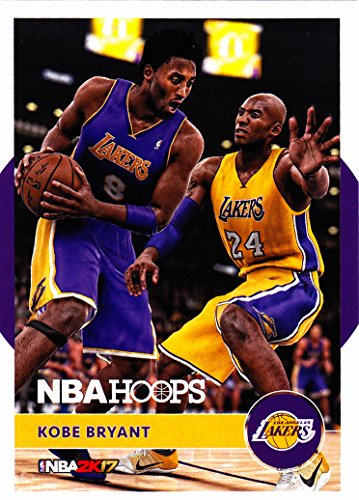 2016-17 PANINI NBA HOOPS KOBE BRYANT NBA 2K17 INSERT LAKERS
