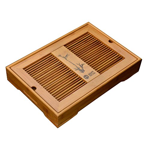 Solid Wood Tea Tray Tea Set Chinese Kung Fu Tea Set-#A by FANCY PUMPKIN