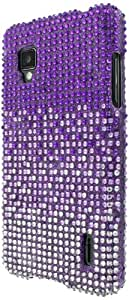 Empire Bling Case - Carcasa para LG Optimus G LS970, morado
