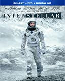 Interstellar (Blu-ray + DVD Combo Pack)