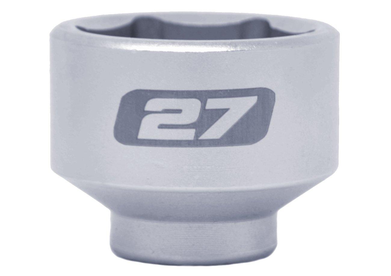 Motivx Tools 27mm Low Profile Oil Filter Socket