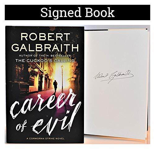 Career of Evil AUTOGRAPHED Robert Galbraith/J.K. Rowling SIGNED BOOK