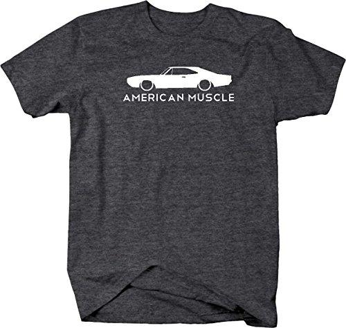 American Muscle Dodge Mopar Charger Challenger Car Hemi Mens T Shirt - Xlarge