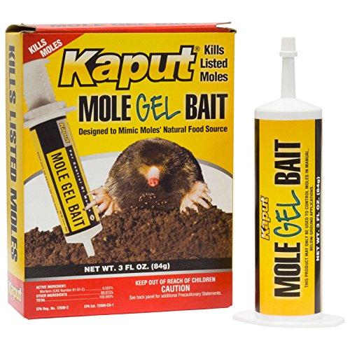 Mole Killer Bait Gel Kills Six Species of Moles Eastern Starnose Mole Yard Moles