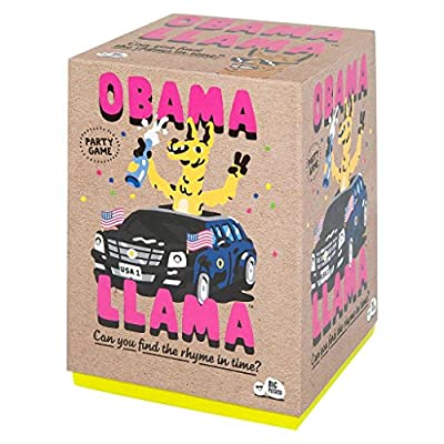 Obama Llama: The Celebrity Rhyming Party Game: Toys & Games