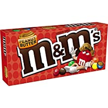 M&M's Peanut Butter Chocolate Candy Theater Box, 3 oz