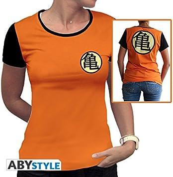 ABYstyle abystyleabytex332 _ XS Dragon Ball Z Kame símbolo camiseta para mujer (XS): Amazon.es: Juguetes y juegos