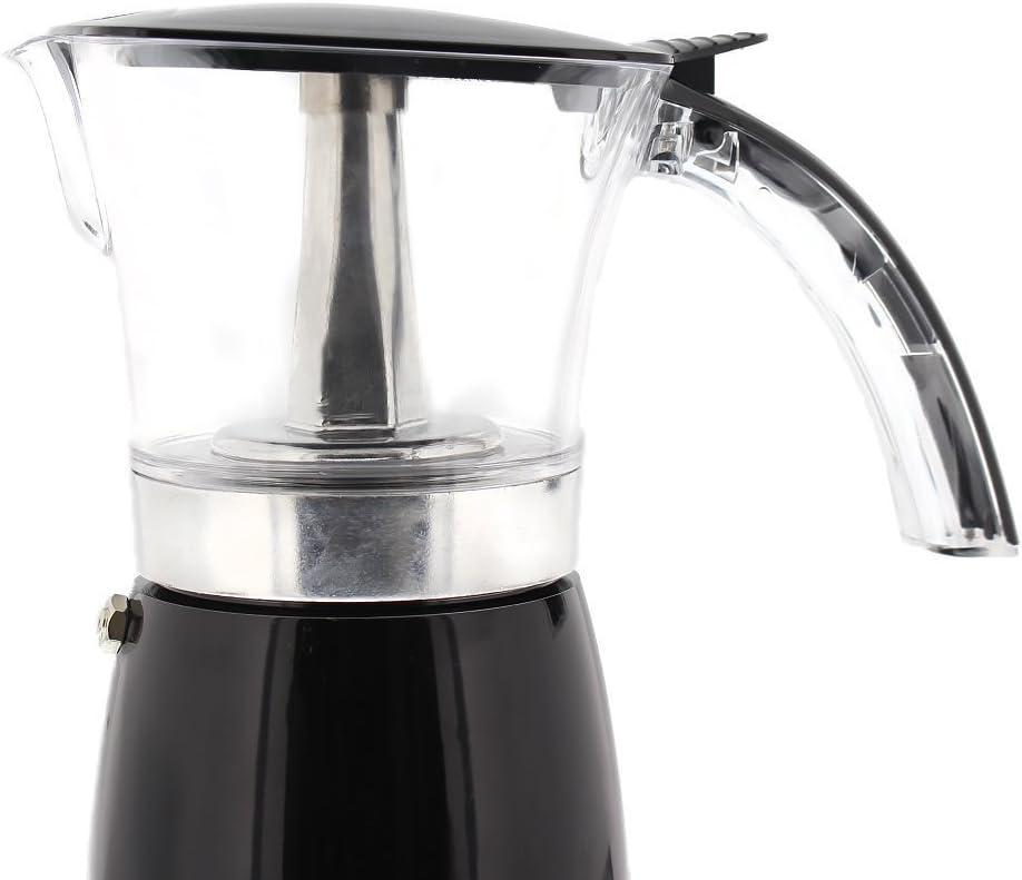 Amazon.com: Brentwood eléctrico 6 tazas de moka cafetera de ...