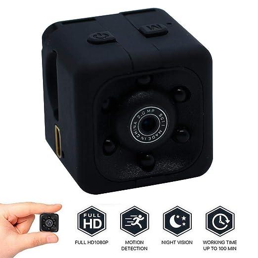 Gfone Cámara portátil al Aire Libre 1080P HD Pixel Mini Deportes Accesorios para cámaras Digitales