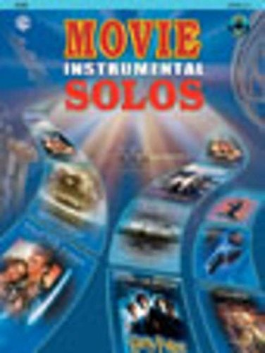 Movie Instrumental Solos, Flute: Book and CD (Level 2-3)