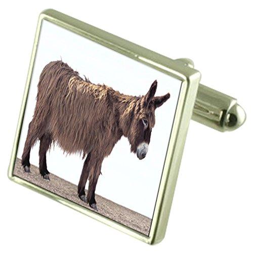 Donkey Engraved Keepsake Message Box - Donkey Keepsake