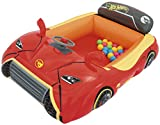 Bestway Hot Wheels Children's Inflatable Car Ball Pit, Includes 25 Balls