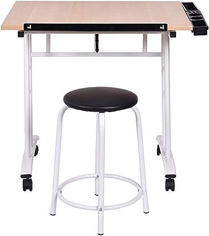 Dipinto a mano tavolo da disegno computer di bordo del tavolo da disegno nero