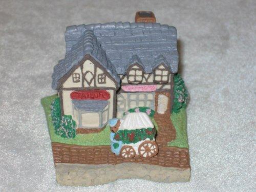 AVON Sunny Cottage Lane Tailor Shop Candy Shop 1994 Avon Miniature (Avon Miniature)