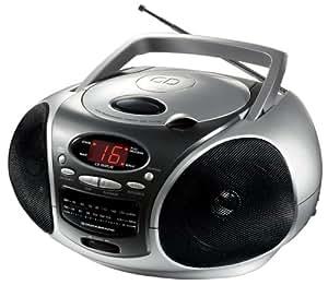 Lenoxx Sound Compact Disc Player Cd Am/fm Radio BoomBox